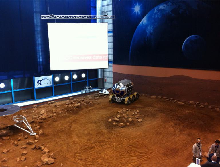 STEPS Rover demonstration