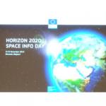 H2020 Space Info day in Bruxelles, Belgium