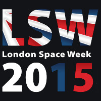 Logo della London Space Week 2015
